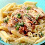 Lemon Chicken With Pasta