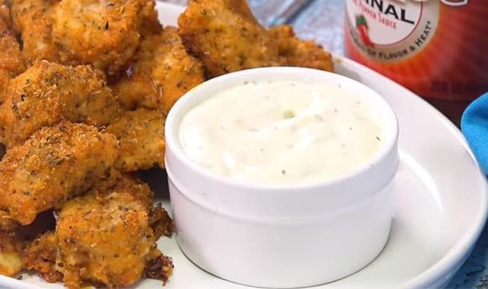 Best Baked Buffalo Chicken Nuggets Recipe