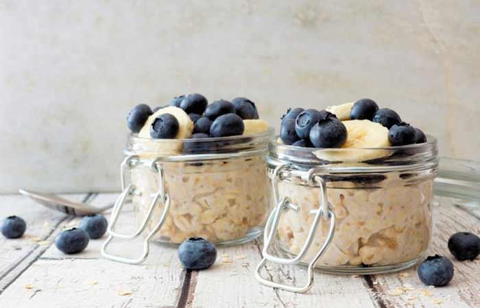 Blueberry-Banana-Overnight-Oats